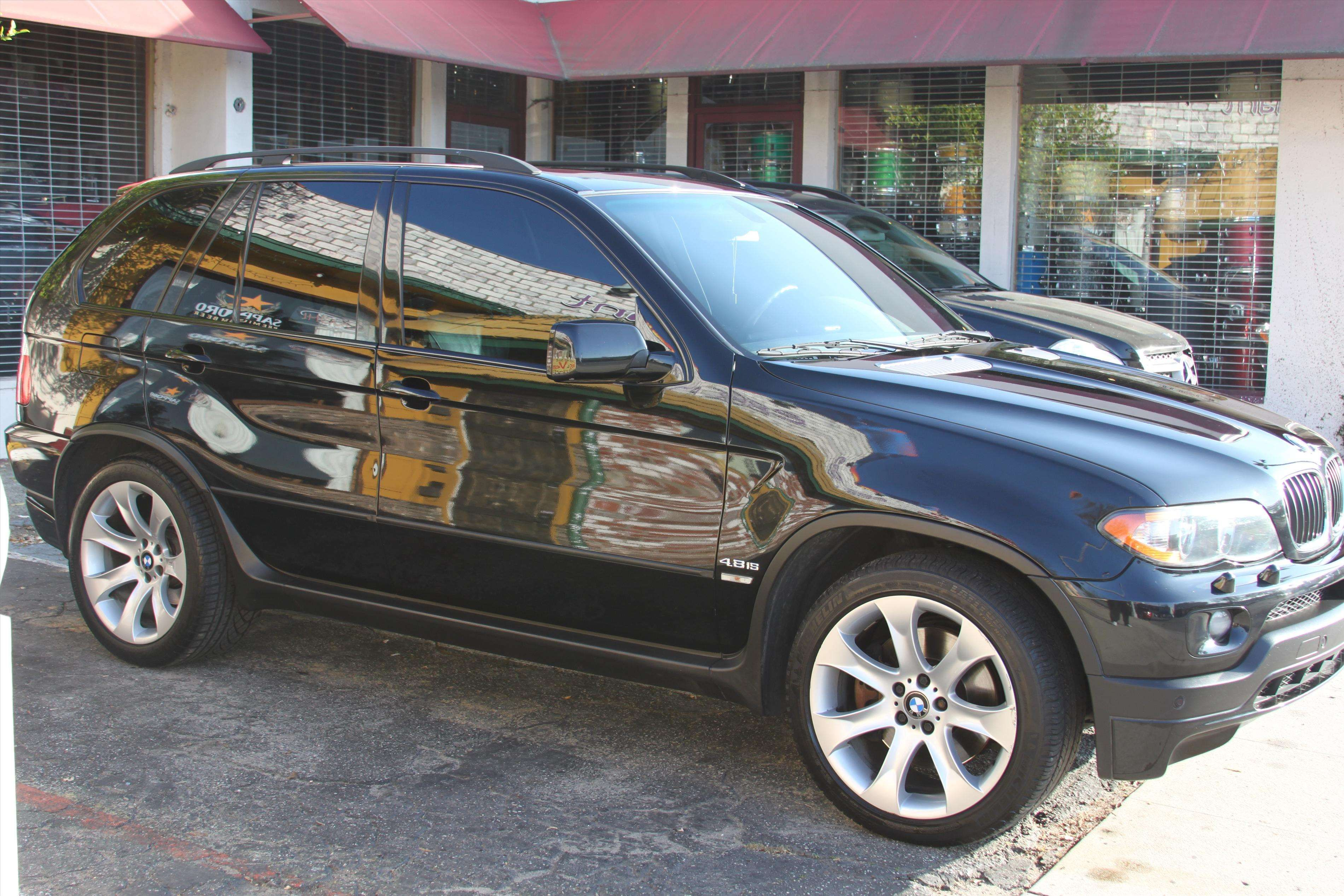 Color black interior color gray body truck engine 7 3l turbocharged - Make Bmw Model X5 M Year 2004 Body Style Suv Exterior Color