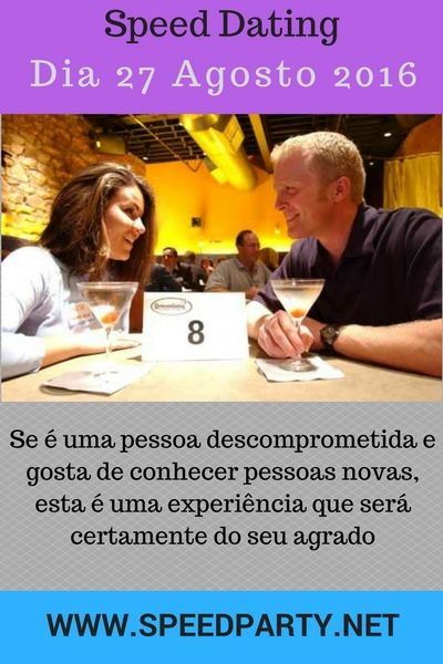 O que significa speed dating