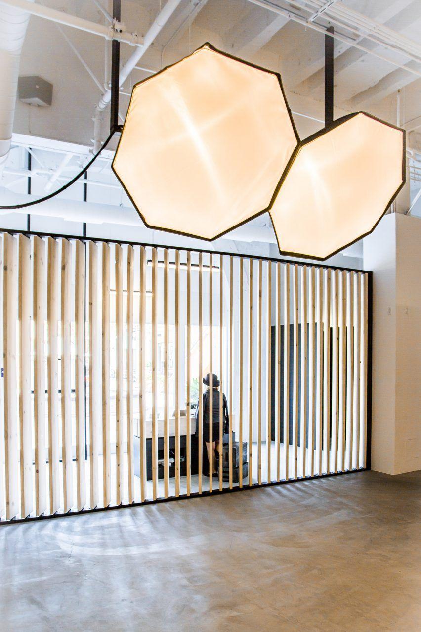 Minimal interior by Rapt Studio provides photo studio for the