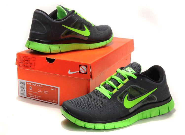 Estas zapatillas de Nike son muy cómodas además de estilosas con un total  look black. Nike Free Run ...