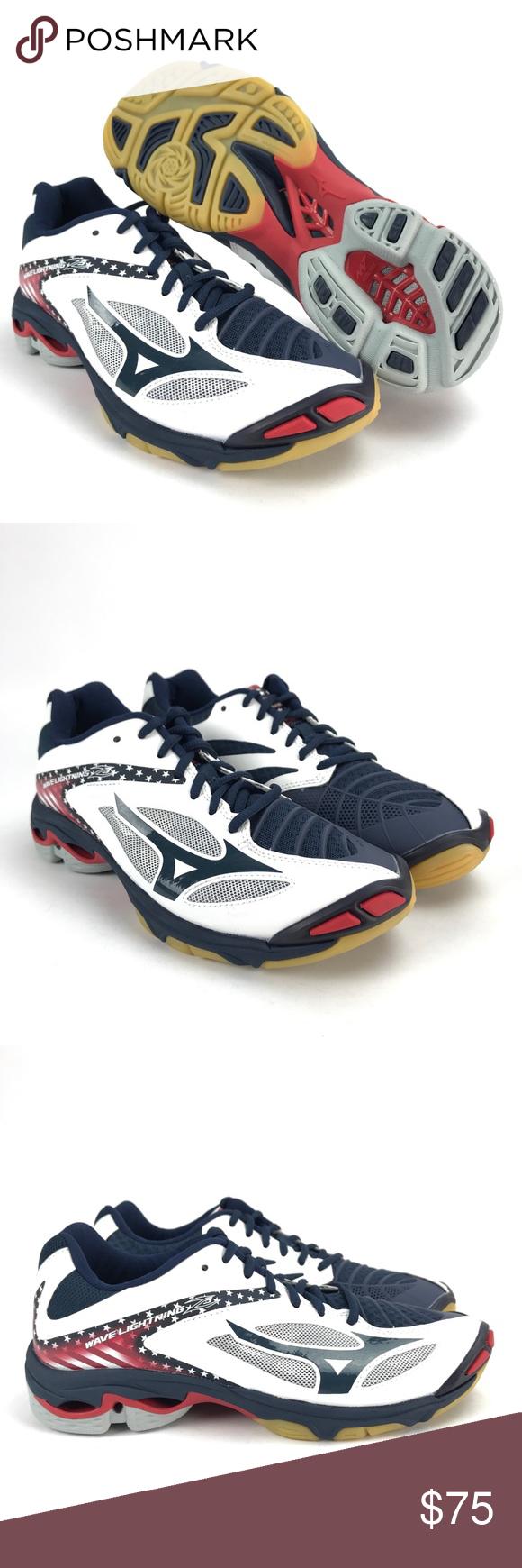 Mizuno Women S Wave Lightning Z3 Volleyball Shoes Nwt Volleyball Shoes Mizuno Shoes New Shoes