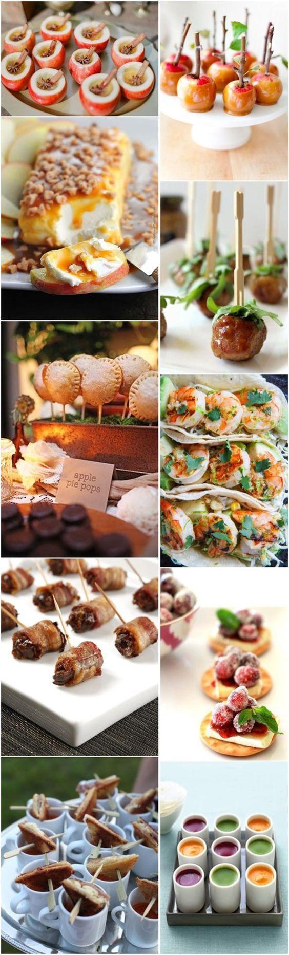 Fall Wedding Food Ideas Fall Wedding Appetizers Recipes