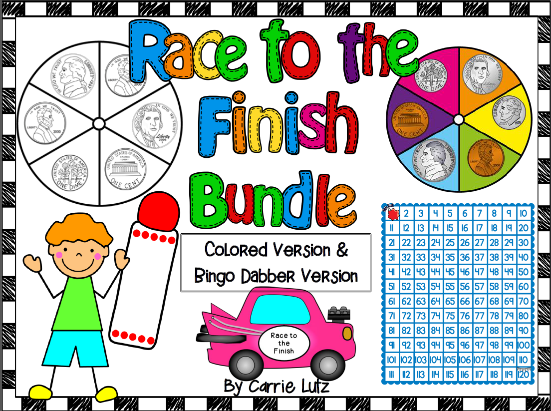 Race To The Finish First Grade 2 Super Fun Ways To