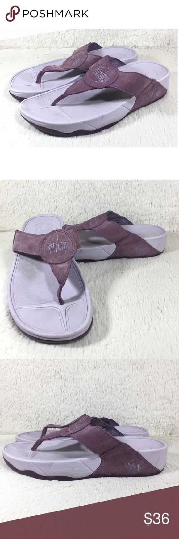 09d3441a26ff FitFlop Sandals Oasis Flip Flops Women Size 8 EUC FitFlop Sandals Oasis  Flip Flops Womens Thongs