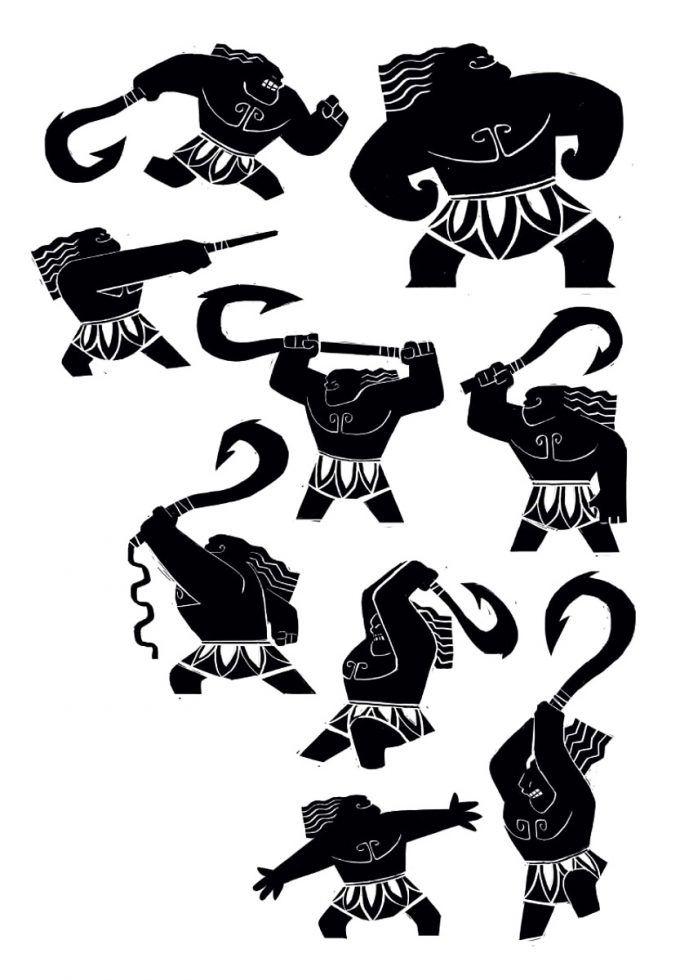 Disney The Art Of Moana Concept Art Illustration 13 Bill