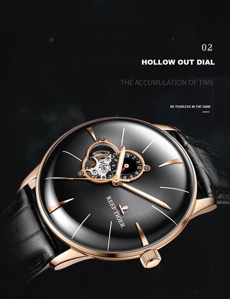 Forsining Diseno Retro De Moda Tres Dial Decoracion De Cuero Genuino Hombres Marca De Lujo Relojes Mecanicos Automaticos Marca De Lujo Reloj Mecanico Reloj