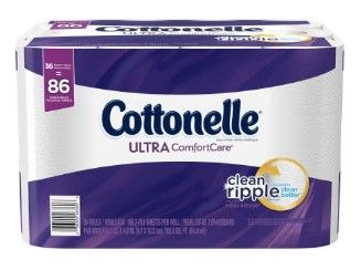 Cottonelle+Ultra+ComfortCare+Toilet+Paper,+Bath+Tissue,+36+Family+Rolls+Only+$15.49+Shipped!