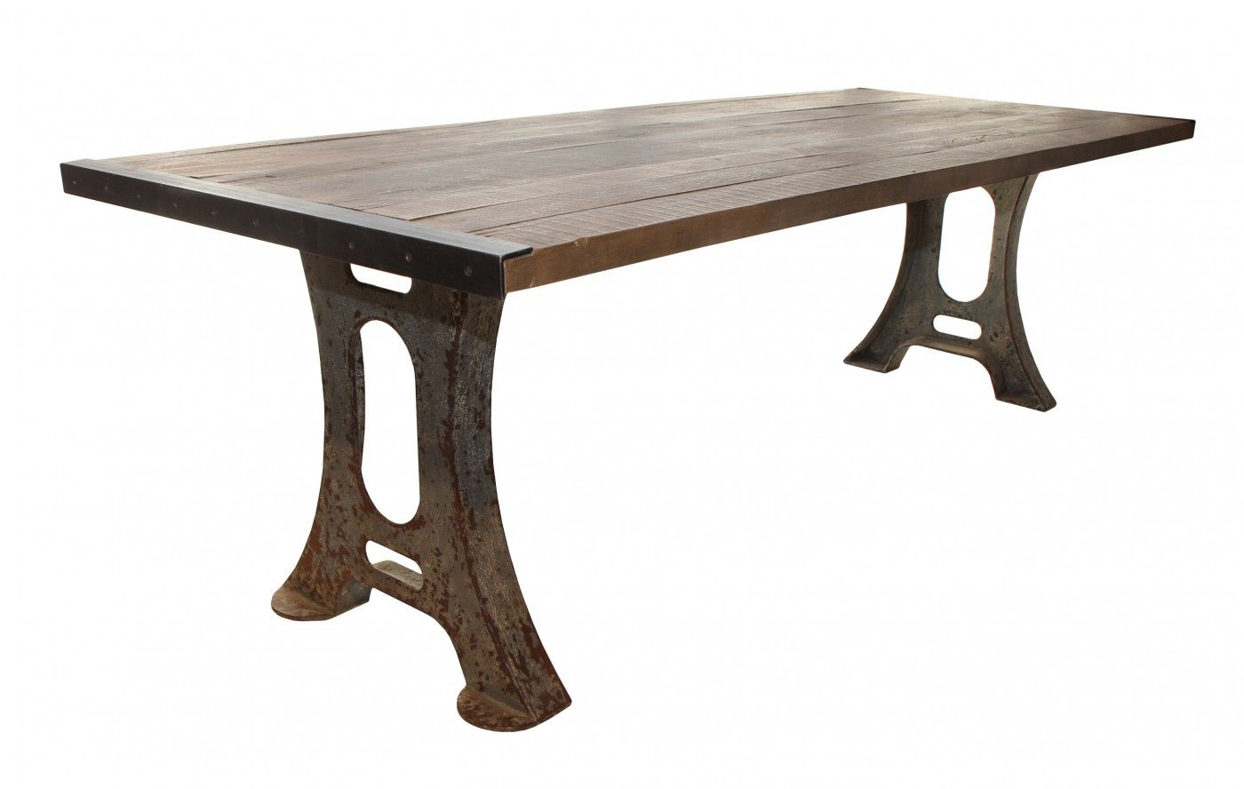 Capturing The Industrial Aesthetic Our Maverick Dining Table