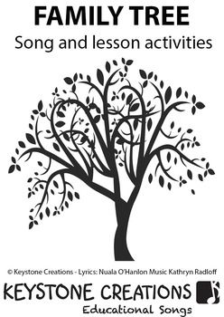 FAMILY TREE' ~ MP3: READ, SING & LEARN About Families | TPT