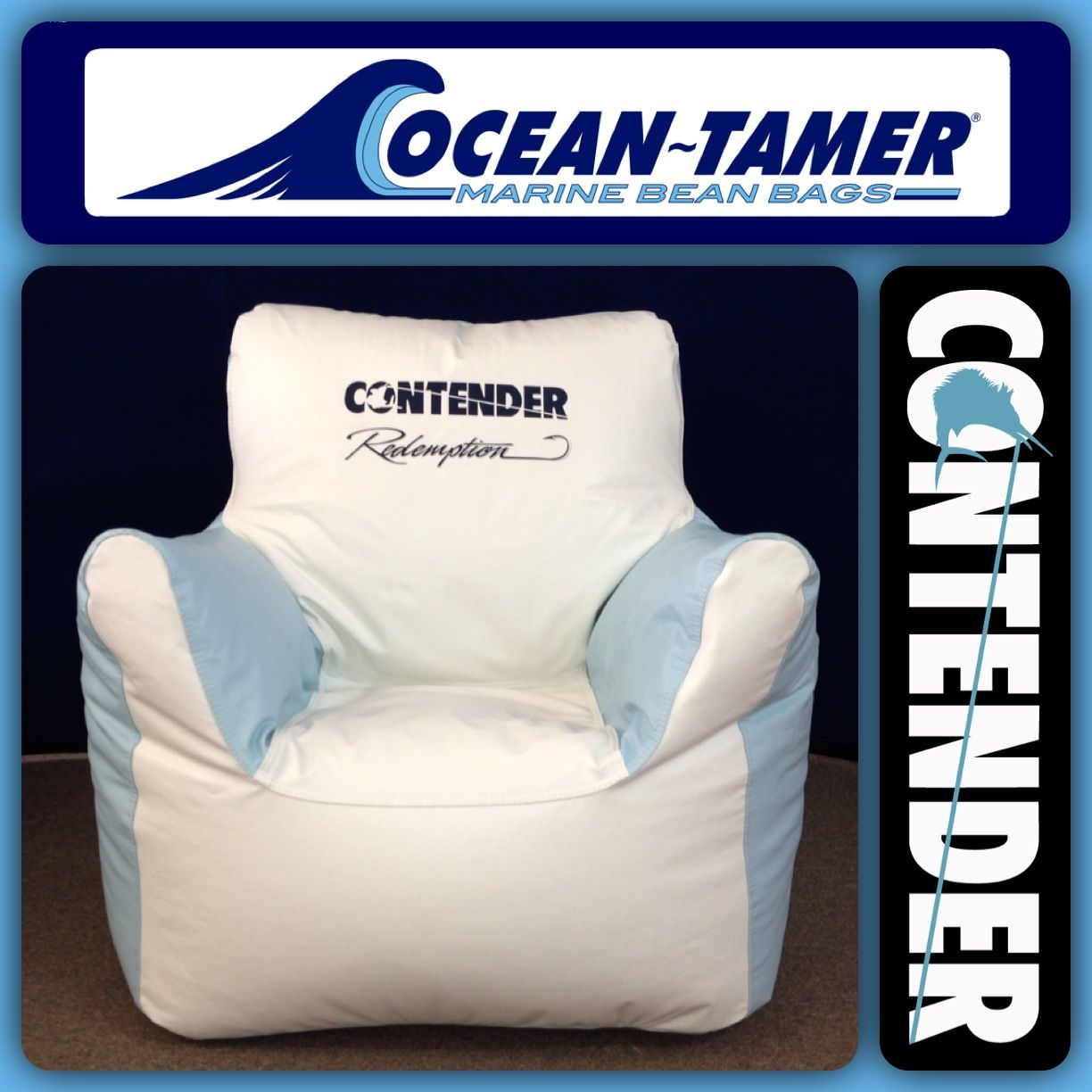Boat Bean Bag Chairs Swivel Glider Living Room Ocean Tamer Armchair Marine With A Custom
