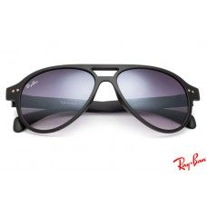 746af33ea3 Ray Ban RB1091 Cats 5000 sunglasses with black frame and violet lenses