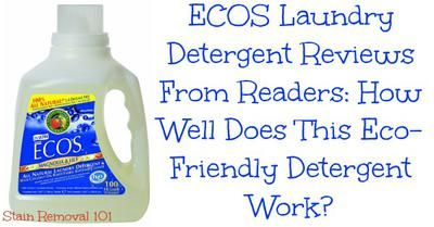 Ecos Detergent Reviews And Opinions Laundry Detergent Eco