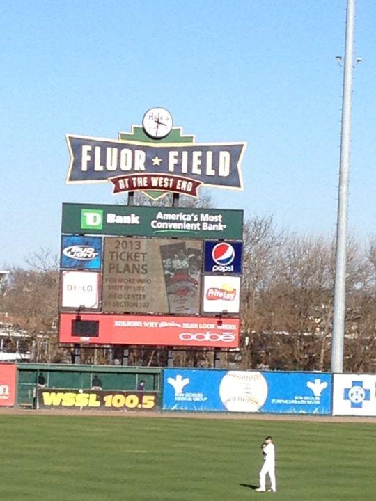 Fluor Field West End Minor League Baseball Field