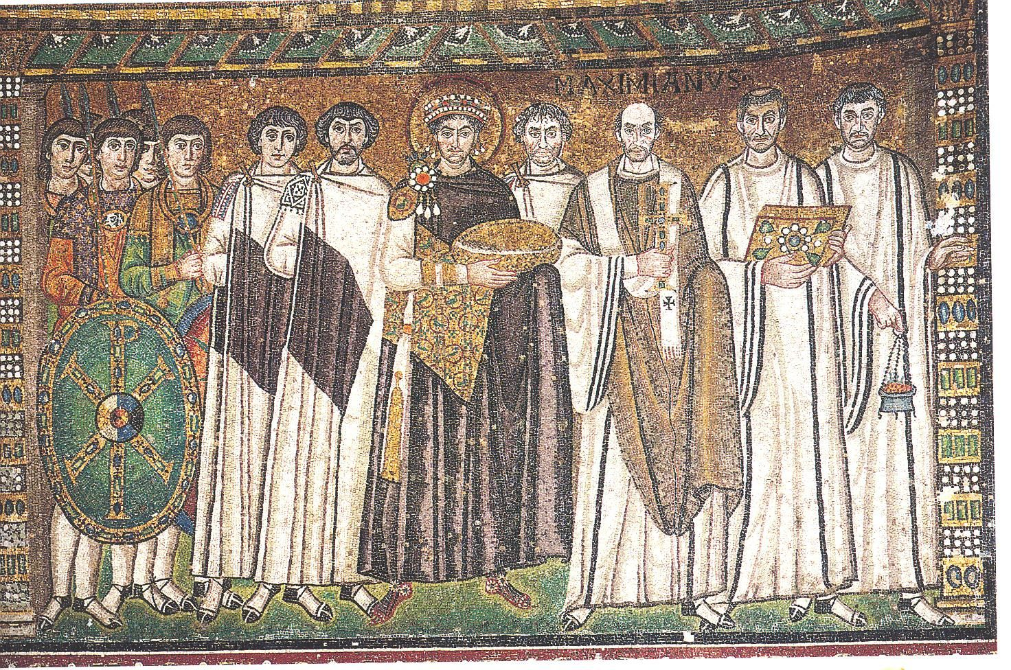 what are some specific ways that spiritual ideas are expressed in byzantine art?