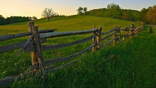 Fences God, I wish I was simple Pinterest Gates and Country