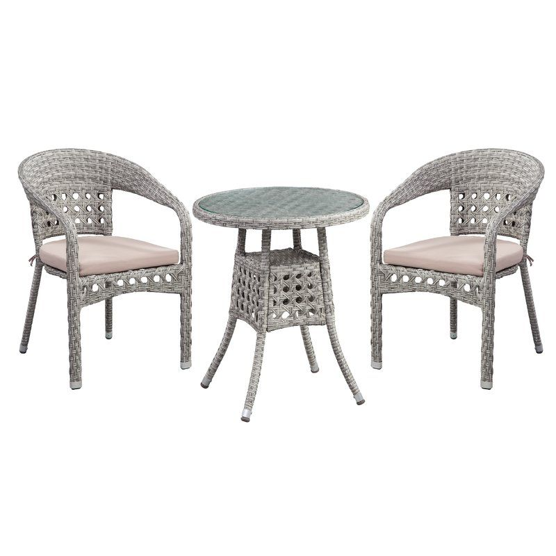 Lark Manor Alcazar 4 Piece Sofa Seating Group With Cushions Frame