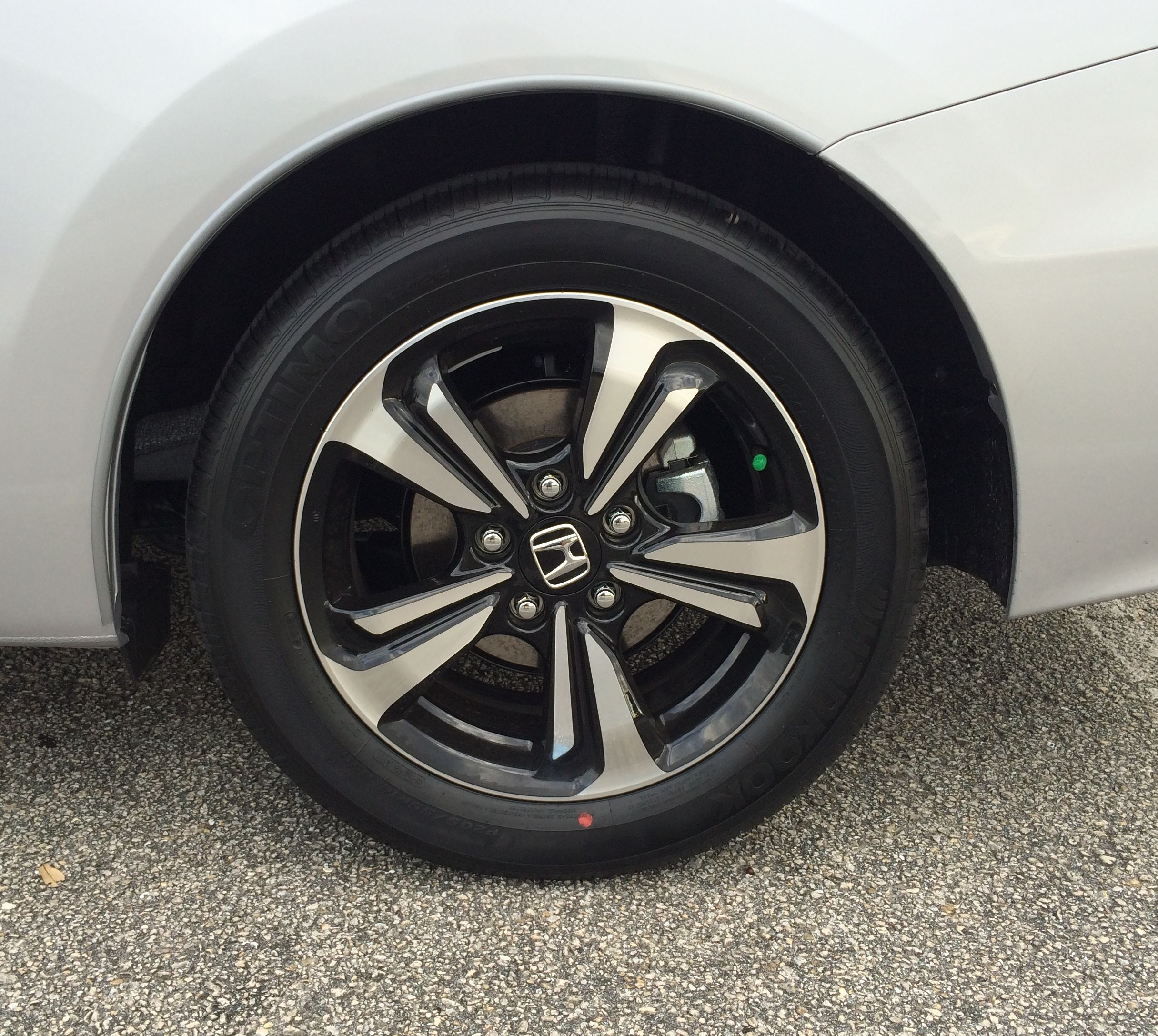 Wheel Rim 2017 Honda Civic Coupe Ex Cvt