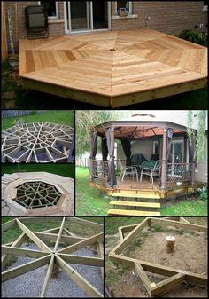 How To Build An Octagonal Deck Your Projects Obn Terrasse Garten Holzarbeiten