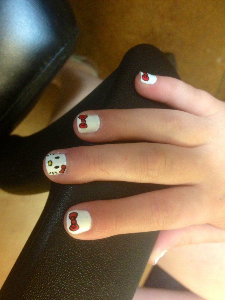 Little Girl Nail Designs