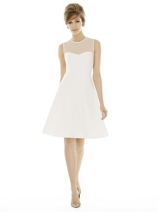 Shop Alfred Sung Bridesmaid Dress - D694 in Sateen Twill at Weddington Way. Find the perfect made-to-order bridesmaid dresses for your bridal party in your favorite color, style and fabric at Weddington Way.
