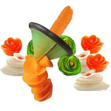 Hot creativo utensili da cucina di verdure affettatrice rotolo fiore chipper dispositivo progettazione accessori cucina strumenti di cottura/accessori(China (Mainland))