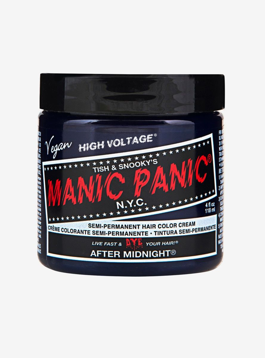 Manic Panic After Midnight Classic High Voltage Semi Permanent Hair Dye Gallery