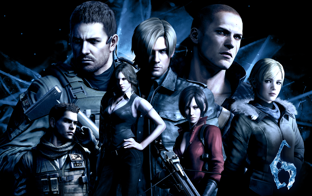 Resident Evil 6 Wallpaper By Jevangood D56lu2x Png Resident