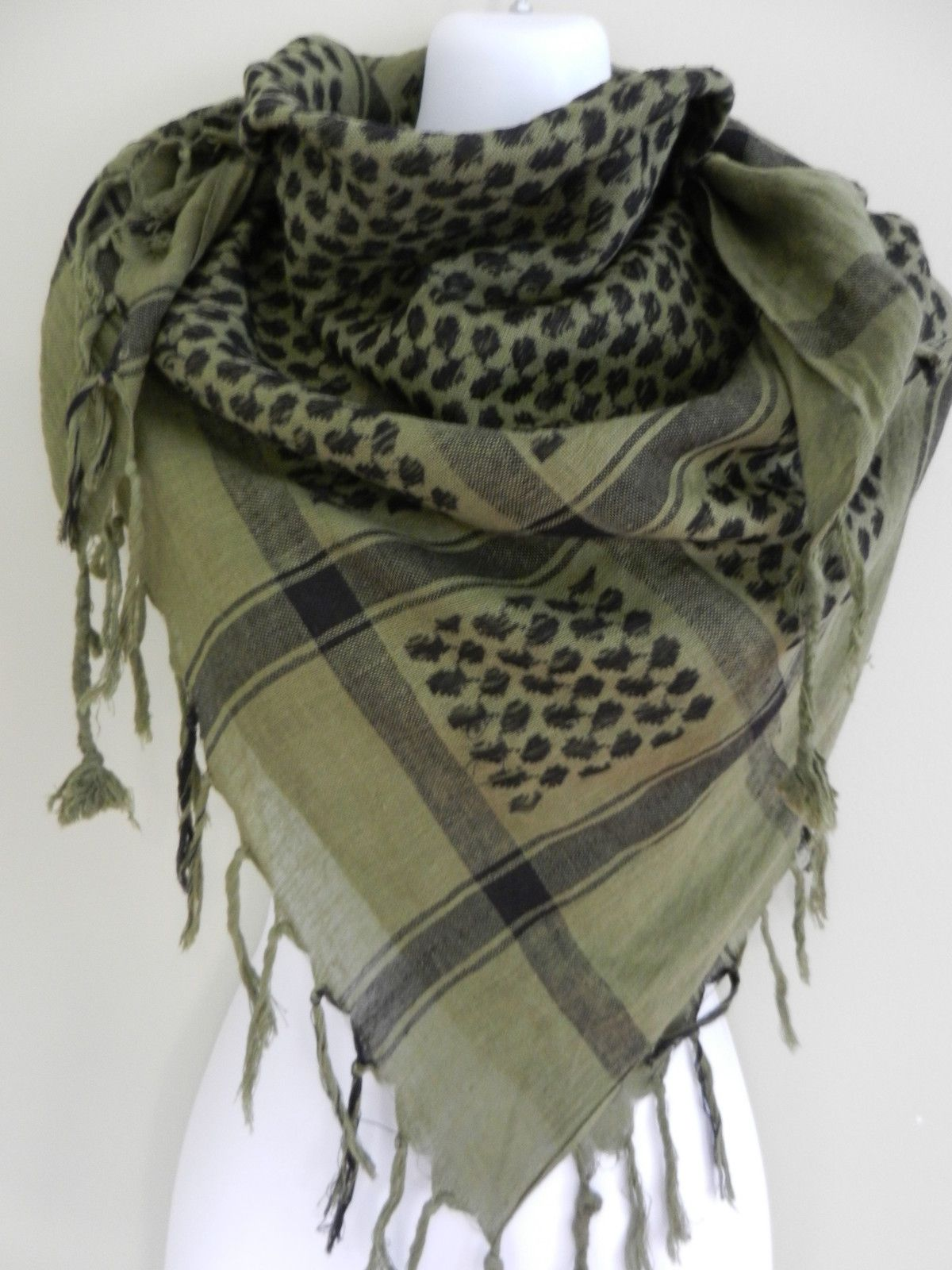 Army Desert Tactical Arab Shemagh KeffIyeh Shawl tuch Scarf Scarves Wrap Thicken