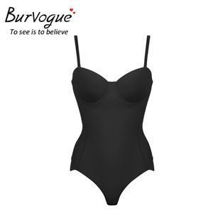 7830b380a3 Burvogue Hot Firm Women Body Shaper Seamless Bodysuits Shapewear Waist  Cincher Control Shaper Slimming Sexy Underwear