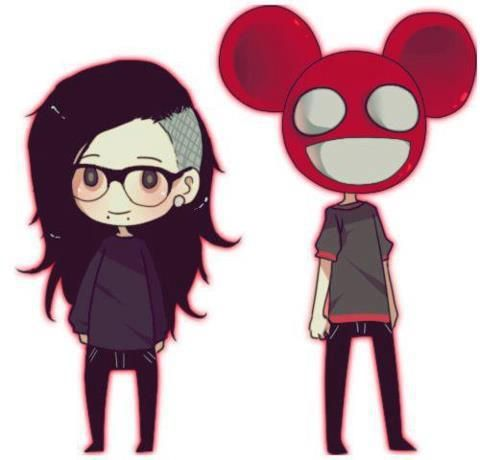 Skrillex and Deadmau5