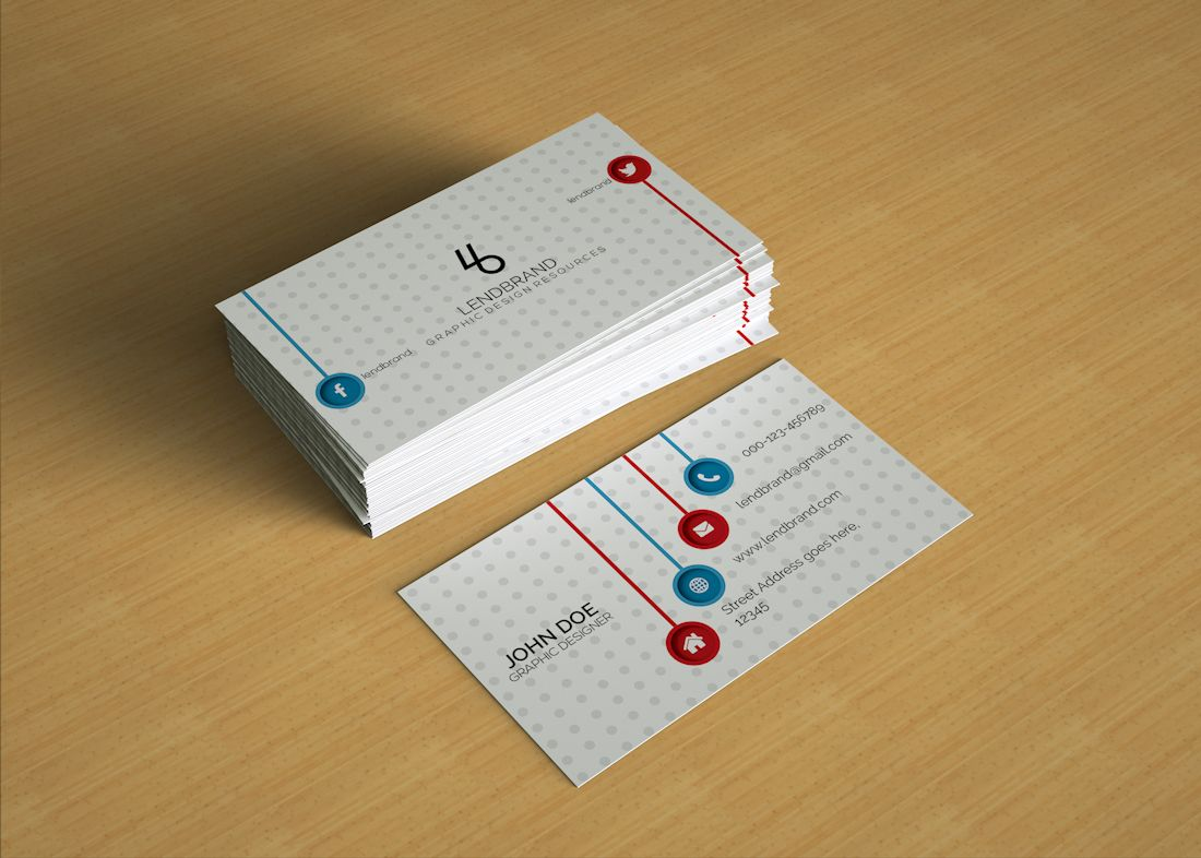 Here Is The Free Business Card Psd Mockup For Showcasing