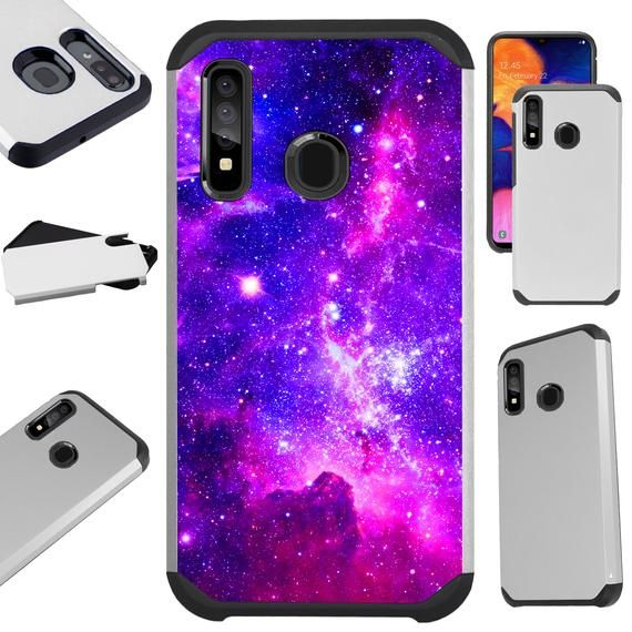 Fusion Case Compatible with Samsung Galaxy S20 Ultra S10 Note 10 Plus A50 A20 Hybrid Phone Cover  PU