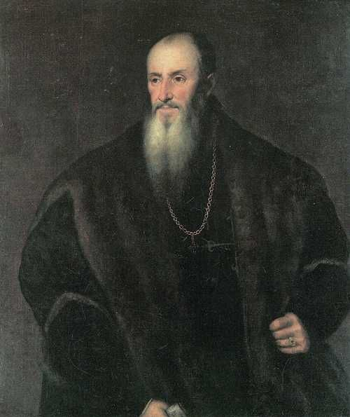 Portrait of Nicolas Perrenot of Granvelle - Titian