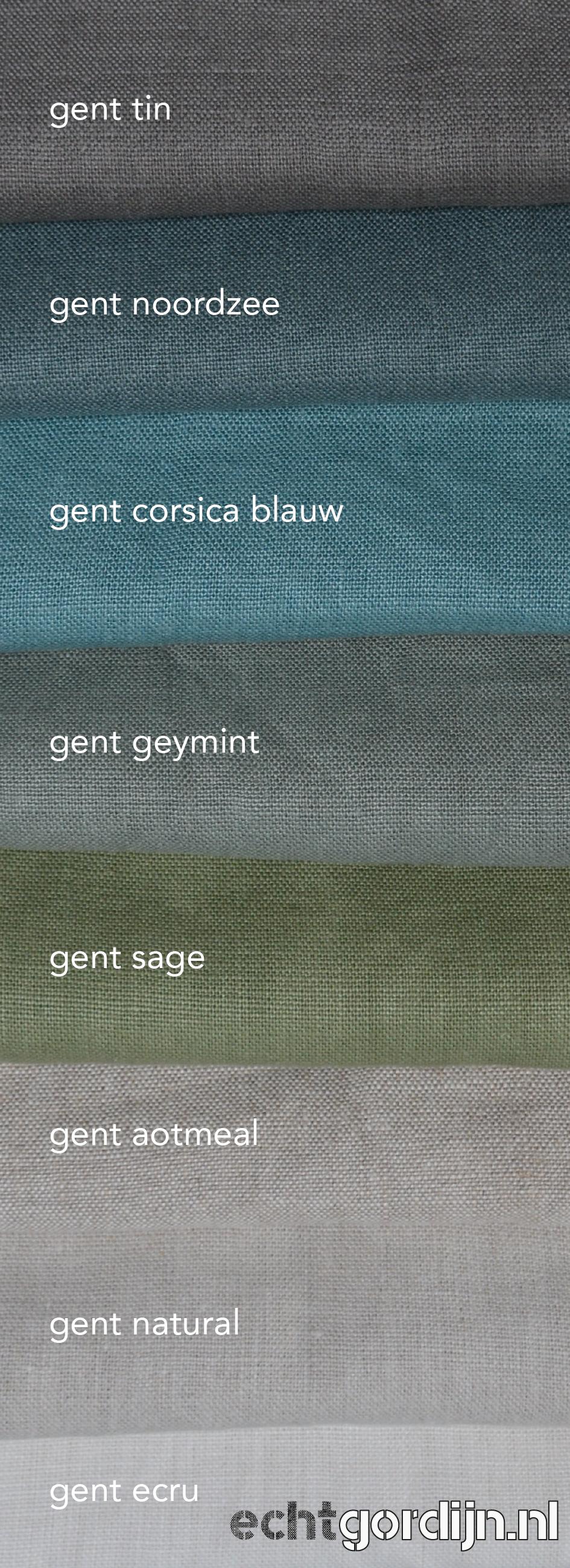 Nieuw | Gent 100% belgisch linnen. 8 kleuren | 400 gr/m2 | zwaar ...