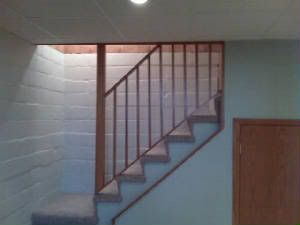 Removable Stair Railing Pics Coming Soon