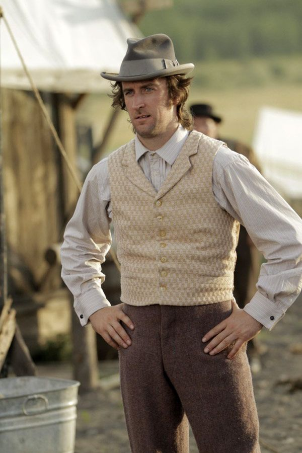 Mickey McGinnes - Phil Burke in Hell on Wheels, set in the 1860s (TV