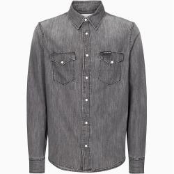 Photo of Calvin Klein denim shirt with attached pocket L Calvin Klein