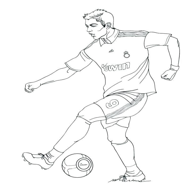 Resultado De Imagen Para Dibujos De E Jugadores Futbol Football Coloring Pages Sports Coloring Pages Christiano Ronaldo