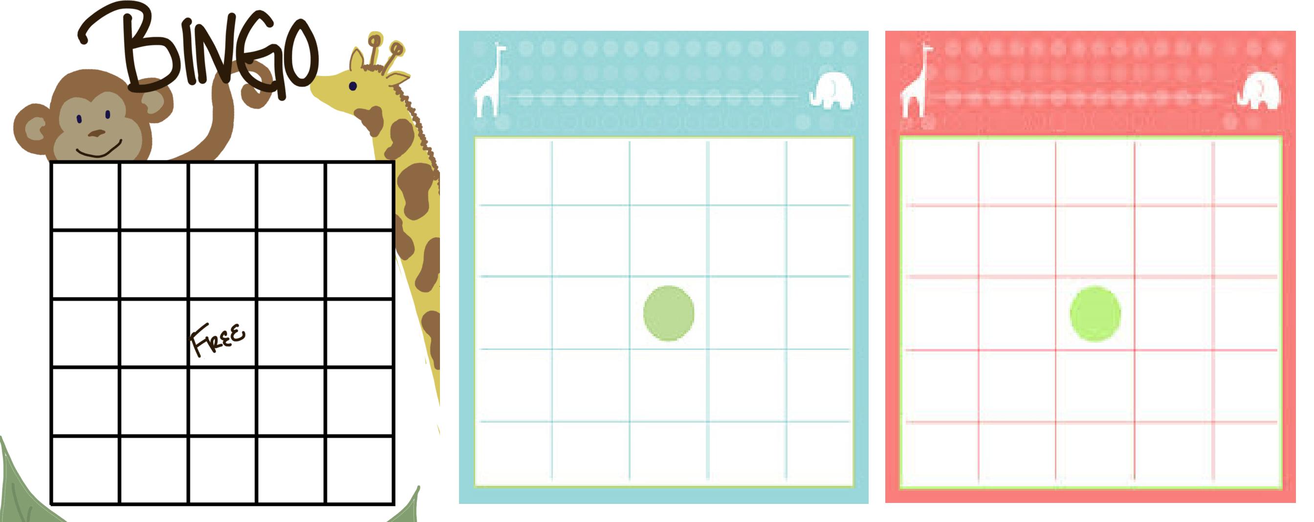 BINGO PARA CHÁ DE BEBÊ: Cartelas para Imprimir | Bingo cha de bebe, Bingo,  Brincadeiras para chá de bebê