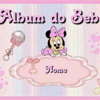 Minnie Baby Free Printable Photo Album.