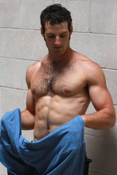 Hairy college dude