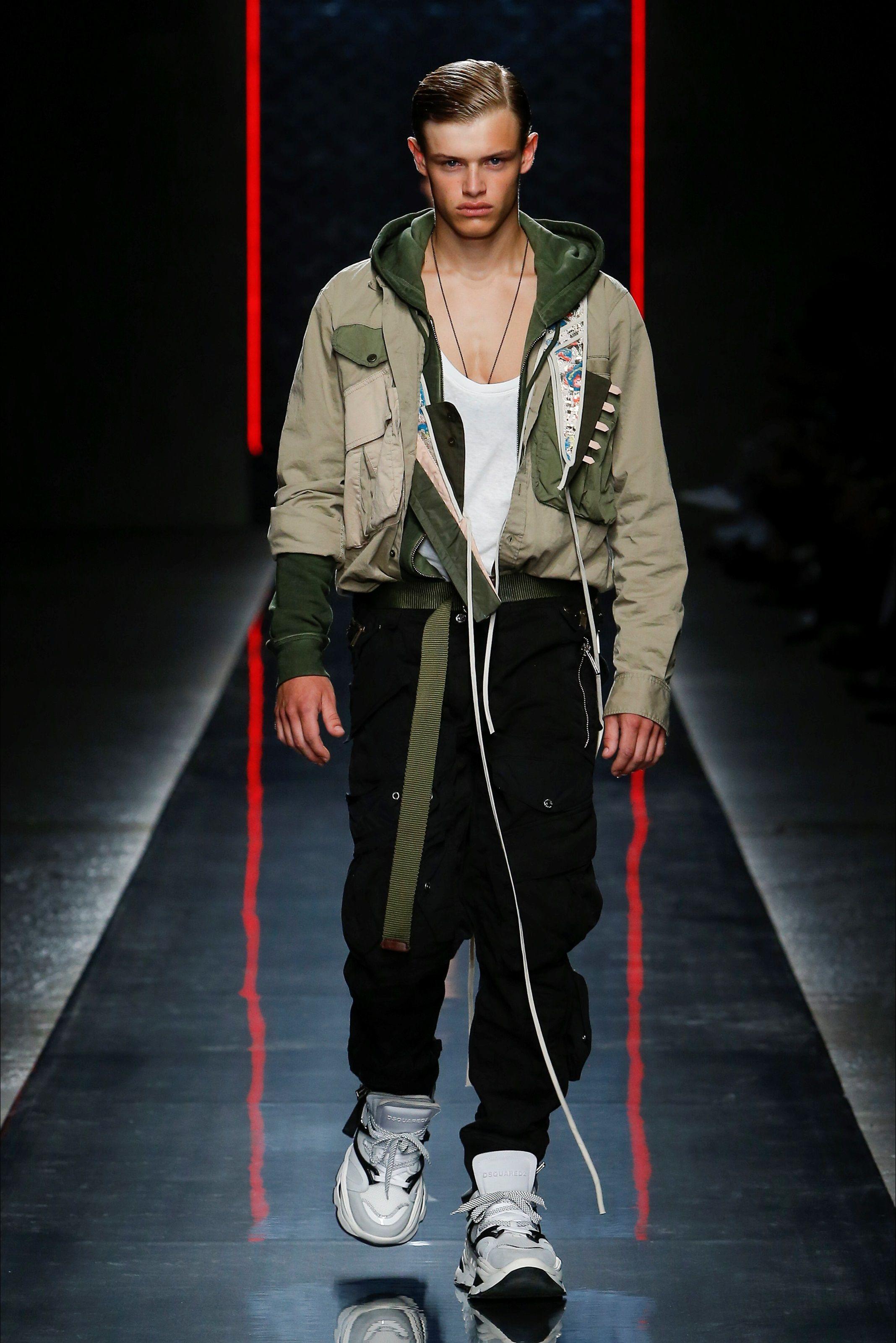 401c80fca89c Sfilata Moda Uomo DSquared2 Milano - Primavera Estate 2019 - Vogue ...