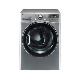 Lg 7 3 Cu Ft Gas Dryer With Steam Cycles Graphite Steel Electric Dryers Gas Dryer Stainless Steel Drum