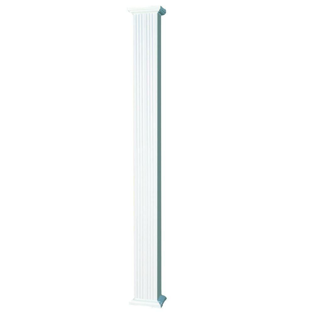 Best Afco 8 Ft X 6 In Aluminum Square Column With Cap And 400 x 300