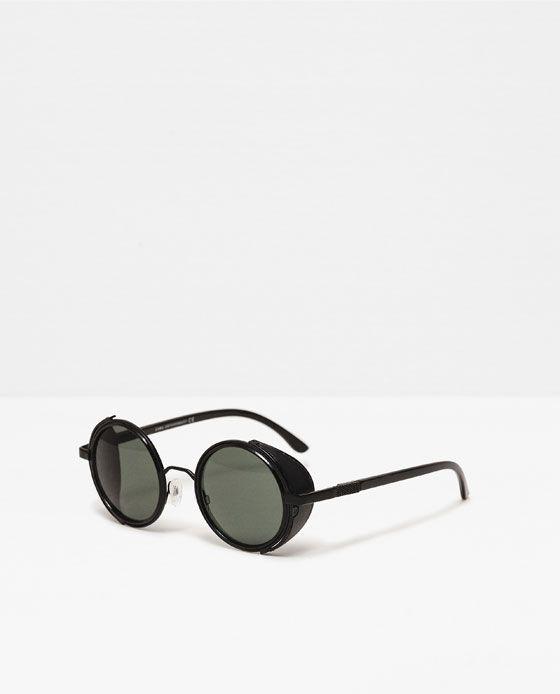 1a6f0f3958 Imagen 1 de GAFAS DE SOL PROTECTOR LATERAL de Zara | Gafas<3 | Gafas ...
