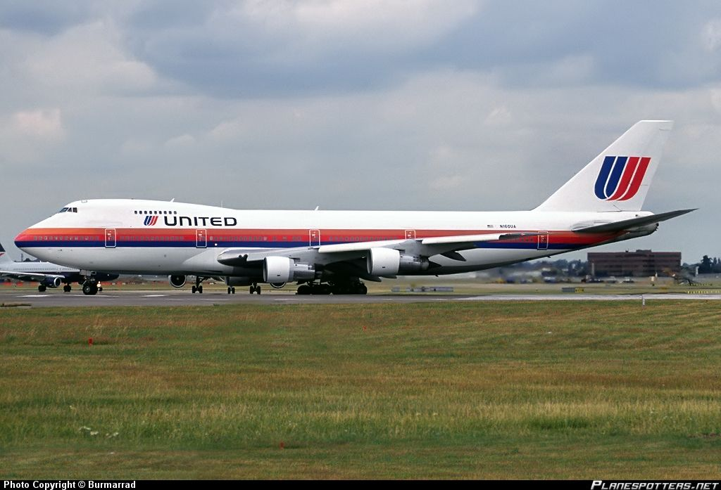 N160ua United Airlines Boeing 747 200 United Airlines Boeing 747 Boeing