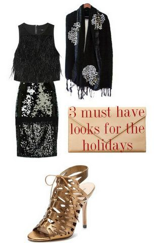 3 outfits for the holidays