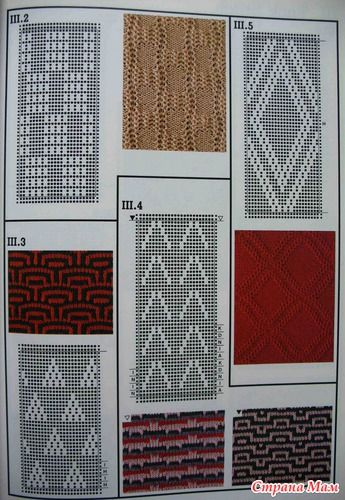 Machine knitting stitches The Harmony guide to tuck Pinterest Knitting ...