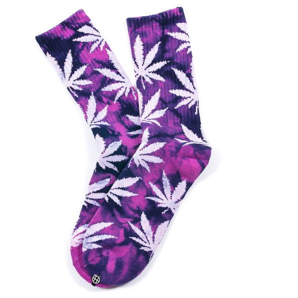 Plantlife Weed Socks Tie Dye Galaxy