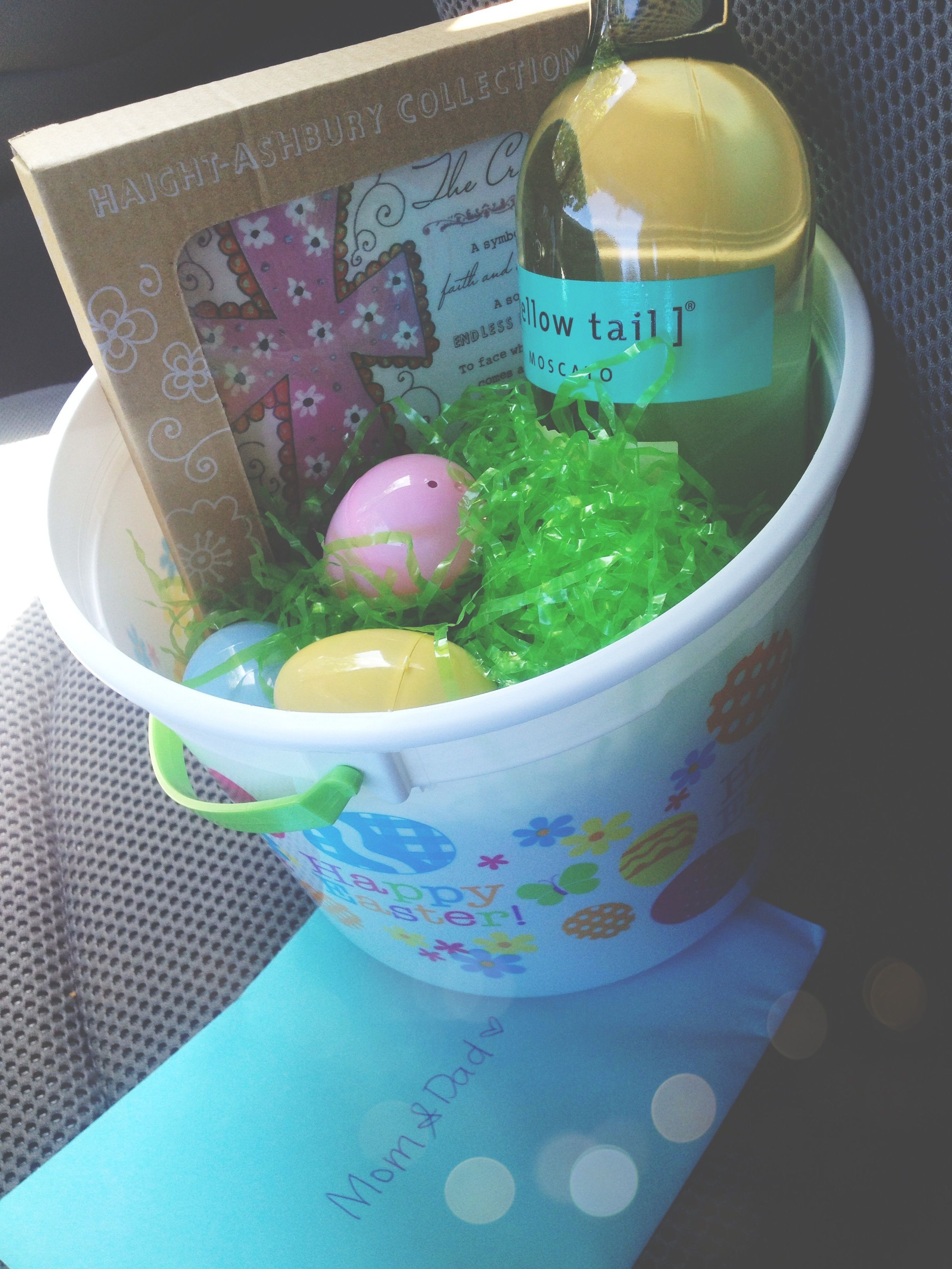 Easter gifts for the various households in my family